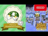 Animal Crossing- Pocket Camp - Flurry's Powdered Cookie