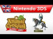 Animal Crossing- New Leaf - Welcome amiibo - Wolf Link (Nintendo 3DS)