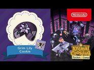 Animal Crossing- Pocket Camp - Grim Lily Cookie