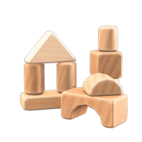 NH Craft Wooden-block toy