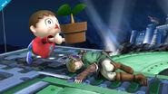Aldeano Super Smash Bros (4)
