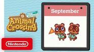 Animal Crossing New Horizons - Exploring September - Nintendo Switch