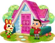 Bunnie and Player home HHD