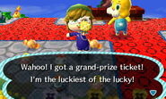 Bunny day grand prize ticket