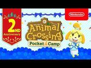 2nd Anniversary - Animal Crossing- Pocket Camp