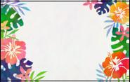 NH-Hibiscus card