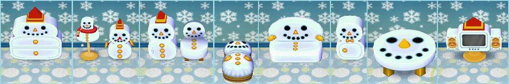 Snowman series