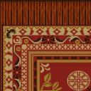 Flooring exotic rug