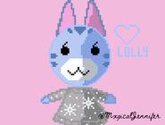 Lolly Pixel Art by @MxgicalJennifer