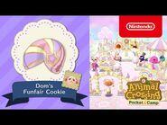 Animal Crossing- Pocket Camp - Dom's Funfair Cookie