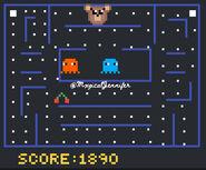 Maple Stuck In Pac-Man Pixel Art by @MxgicalJennifer