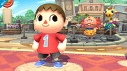 Aldeano Super Smash Bros (1)