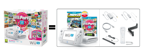 Wii Party U Basic Pack