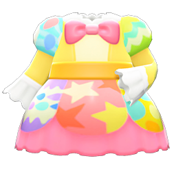Egg party dress