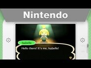 Isabelle from Animal Crossing- New Leaf Message!