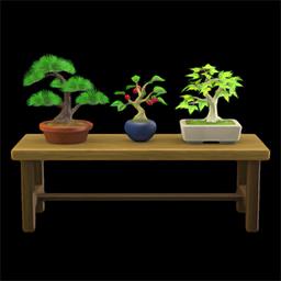 Bonsai shelf