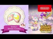 Animal Crossing- Pocket Camp - Stella's Sleepy Cookie