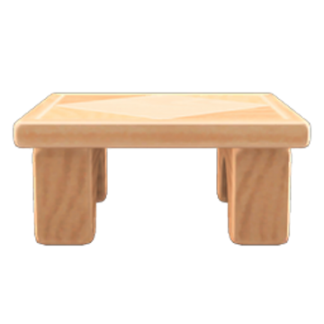 Wooden Block Table Animal Crossing Wiki Fandom