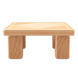 Wooden Side Table Acnh