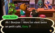 Tom nook café