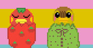 Molly and Ketchup Pixel Art for Contest by @MxgicalJennifer