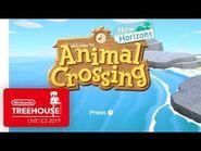 Animal Crossing- New Horizons Gameplay - Nintendo Treehouse- Live - E3 2019