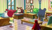 Hermanas Manitas en Animal Crossing La Película por dentro