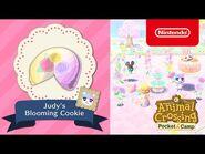 Animal Crossing- Pocket Camp - Judy's blooming cookie