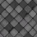 Flooring charcoal tile