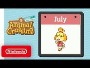 Animal Crossing- New Horizons – Exploring July - Nintendo Switch
