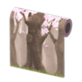 NH Craft Cherry-blossom-trees wall