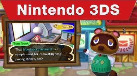 Nintendo 3DS -- Animal Crossing New Leaf Tourism Trailer 3