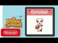 Animal Crossing- New Horizons - Exploring October - Nintendo Switch