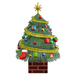Big festive tree