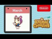 Animal Crossing- New Horizons - Exploring March