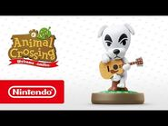 Animal Crossing- New Leaf - Welcome amiibo - K.K