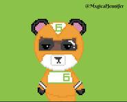 6 Pixel Art @MxgicalJennifer