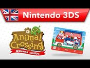 Animal Crossing- New Leaf - Welcome amiibo - Rilla (Nintendo 3DS)