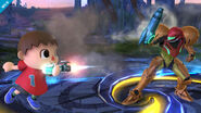 Aldeano Super Smash Bros (9)