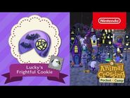 Animal Crossing- Pocket Camp - Lucky's Frightful Cookie