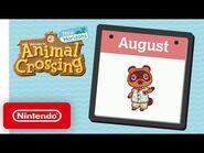 Animal Crossing- New Horizons - Exploring August - Nintendo Switch