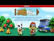Animal Crossing Direct 11.2