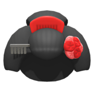 NH-Hat-Geisha wig red