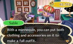 Sable Describes A Mannequin.JPG