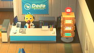 Dodo Airlines - Orville and Card Stand