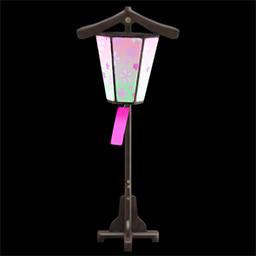 Blossom-viewing lantern