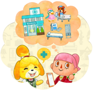 Jugador y Canela (Happy Home Designer)