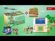 New Nintendo 2DS XL Animal Crossing Edition