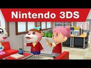 Nintendo 3DS - Animal Crossing- Happy Home Designer - Dream Homes