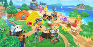 Animal Crossing New Horizons (Artwork)
